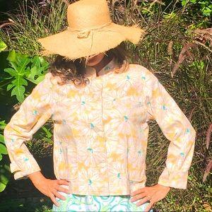 Vintage🌼Pendleton Cotton Daisy Jacket